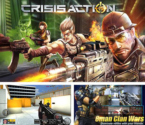 In addition to the game Fusion war for Android phones and tablets, you can also download Crisis action for free.