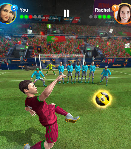 Kostenloses Android-Game Cristiano Ronaldo: Fußball-Rivalen. Vollversion der Android-apk-App Hirschjäger: Die Cristiano Ronaldo: Football rivals für Tablets und Telefone.