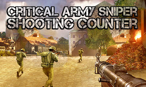 Critical army sniper: Shooting counter