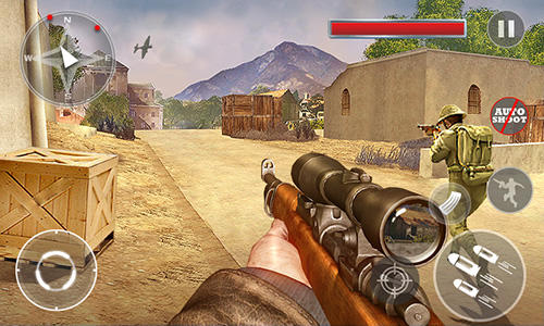 Screenshots von Critical army sniper: Shooting counter für Android-Tablet, Smartphone.