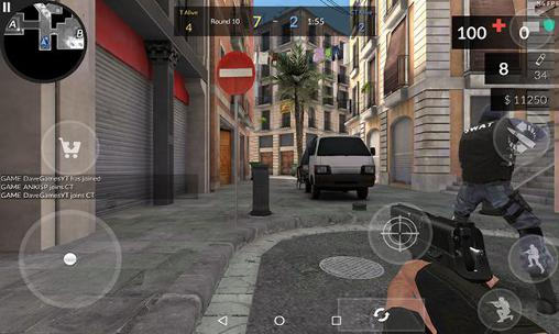 Screenshots von Critical ops für Android-Tablet, Smartphone.