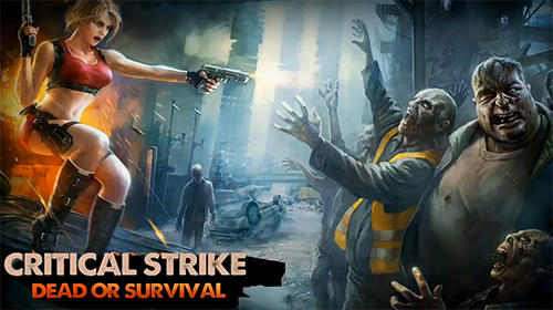 Critical strike: Dead or survival обложка