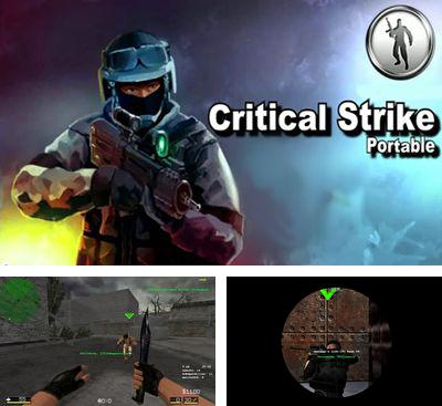 In addition to the game Critical Missions SWAT for Android phones and tablets, you can also download Critical Strike Portable for free.