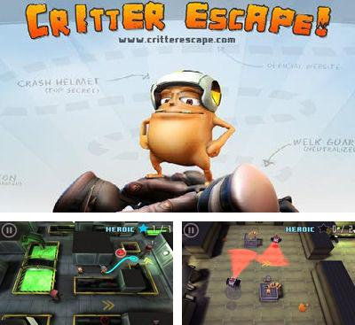 In addition to the game A Space Shooter for Android phones and tablets, you can also download Critter Escape for free.