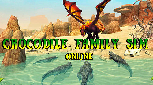 Crocodile family sim: Online poster