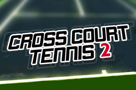 Cross court tennis 2 poster