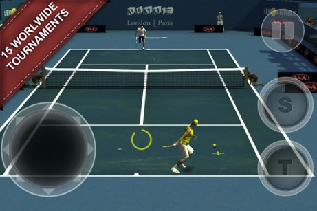 Cross court tennis 2 screenshot 2