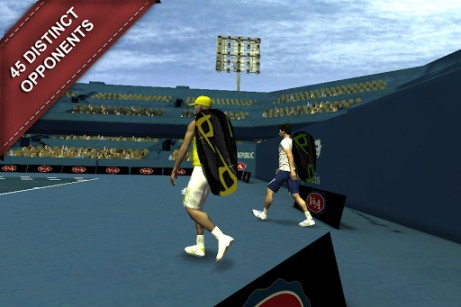 Screenshots von Cross court tennis 2 für Android-Tablet, Smartphone.