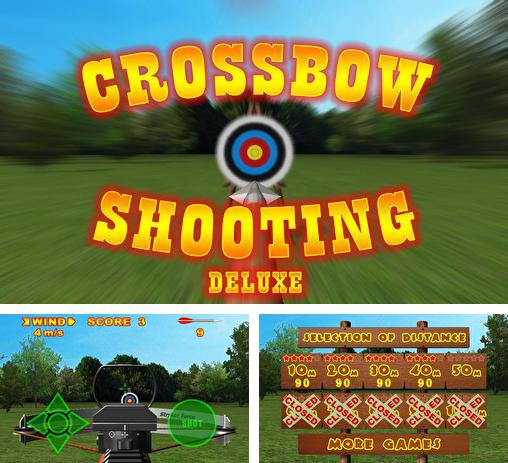 In addition to the game Throwing Knife 2 for Android phones and tablets, you can also download Crossbow shooting deluxe for free.