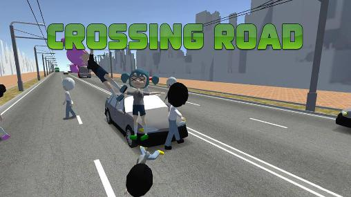 Crossing road