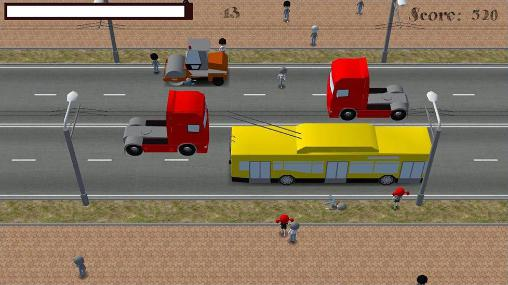 Screenshots von Crossing road für Android-Tablet, Smartphone.