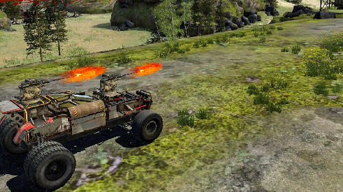 Download Game Android Crossout Mobile (Perang sambil Balapan)