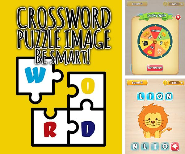 Crossword puzzle image: Be smart!