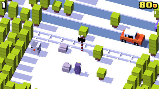 Screenshots von Crossy road für Android-Tablet, Smartphone.