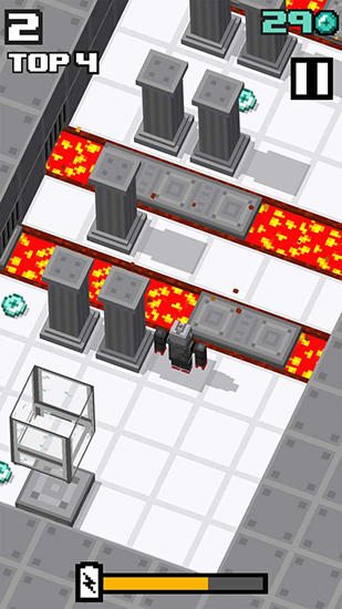 Crossy robot: Combine skins screenshot 2