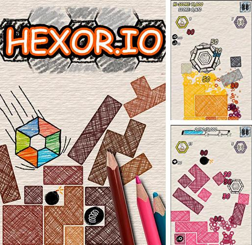 Crush blocks! Hexor.io