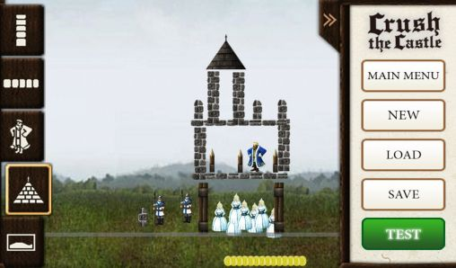 Screenshots von Crush the castle für Android-Tablet, Smartphone.