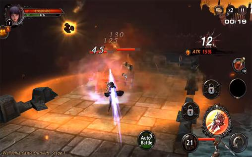 Screenshots von Cry: The blackened soul für Android-Tablet, Smartphone.