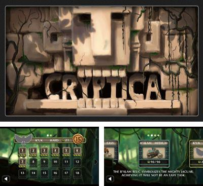 In addition to the game The Marbians for Android phones and tablets, you can also download Cryptica for free.
