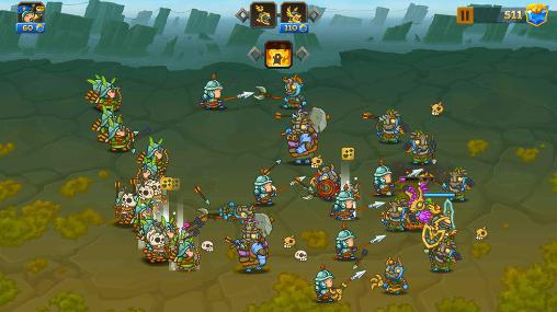 Screenshots von Crystal crusade für Android-Tablet, Smartphone.