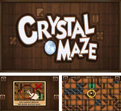 In addition to the game Rolling Star for Android phones and tablets, you can also download Crystal-Maze for free.