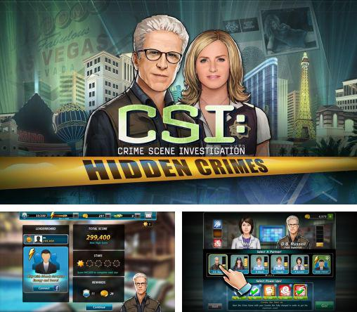 Alem do jogo CSI: Caça-níqueis para telefones e tablets Android, voce tambem pode baixar CSI: Cena do crime. Investigações. Crimes escondidos, CSI: Crime scene investigation. Hidden crimes gratuitamente.