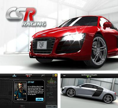 In addition to the game CSR2 for Android phones and tablets, you can also download CSR Racing for free.