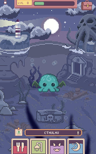 Cthulhu virtual pet 2 скриншот 2