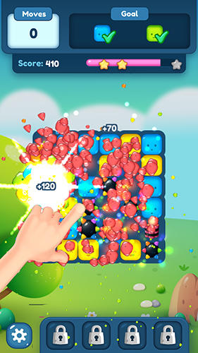 Cube blast puzzle block: Puzzle legend screenshot 3