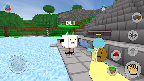 Cube craft go: Pixelmon battle screenshot 2