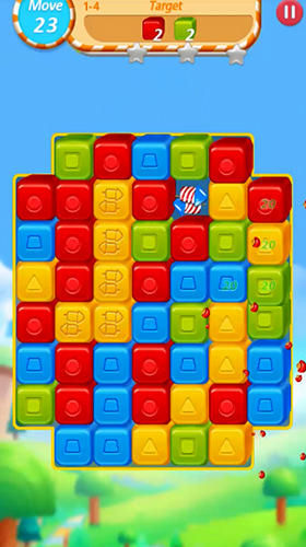Kostenloses Android-Game Würfel-Crush: Zusammenbruch und Explosion. Vollversion der Android-apk-App Hirschjäger: Die Cube crush: Collapse and blast game für Tablets und Telefone.