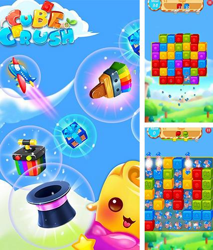 Cube crush: Collapse and blast game