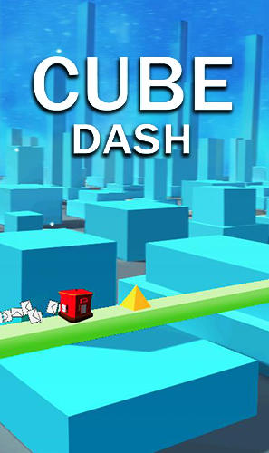 Cube dash poster