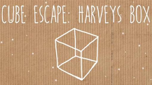 Cube escape: Harvey's box poster
