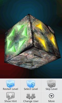 Screenshots of the Cube of Atlantis for Android tablet, phone.