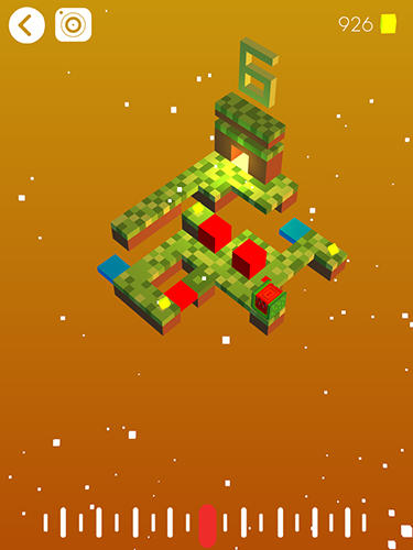 Screenshots von Cube rogue: Craft exploration block worlds für Android-Tablet, Smartphone.