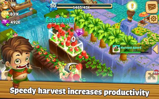 Kostenloses Android-Game Cube Skyland: Farm Craft. Vollversion der Android-apk-App Hirschjäger: Die Cube skyland: Farm craft für Tablets und Telefone.