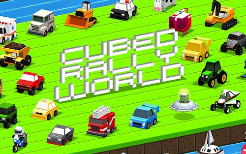 Cubed rally world poster