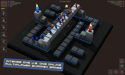 Download Cubemen Android free game.