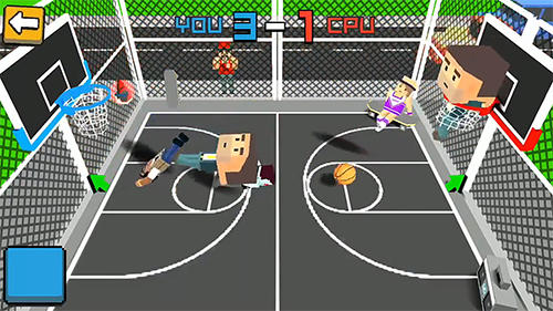Cubic basketball 3D скриншот 2