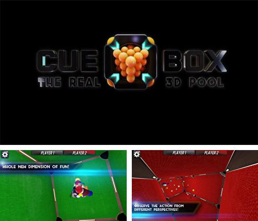 In addition to the game Attack of the ghastly grey matter for Android phones and tablets, you can also download Cue box: The real 3D pool for free.