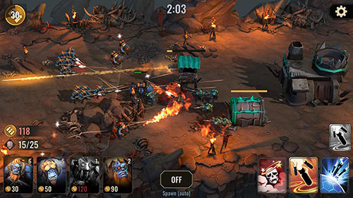 Screenshots von Cult of war für Android-Tablet, Smartphone.