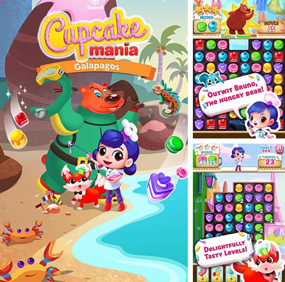 In addition to the game Sweet blast for Android phones and tablets, you can also download Cupcake mania: Galapagos for free.