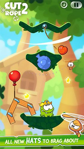 安卓平板、手机Cut the rope 2截图。