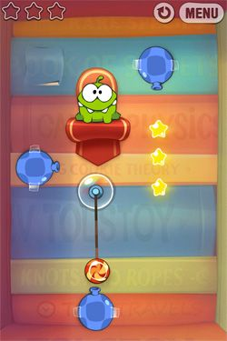 Kostenloses Android-Game Cut the Rope: Experimente. Vollversion der Android-apk-App Hirschjäger: Die Cut the Rope: Experiments für Tablets und Telefone.