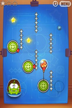 Capturas de pantalla de Cut the Rope: Experiments para tabletas y teléfonos Android.