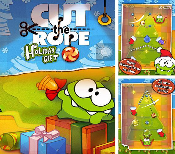 Zusätzlich zum Spiel Cut the Rope für Android-Telefone und Tablets können Sie auch kostenlos Cut the rope: Holiday gift, Cut the Rope: Holiday Gift herunterladen.