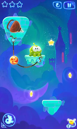 Kostenloses Android-Game Cut the Rope: Magie. Vollversion der Android-apk-App Hirschjäger: Die Cut the rope: Magic für Tablets und Telefone.