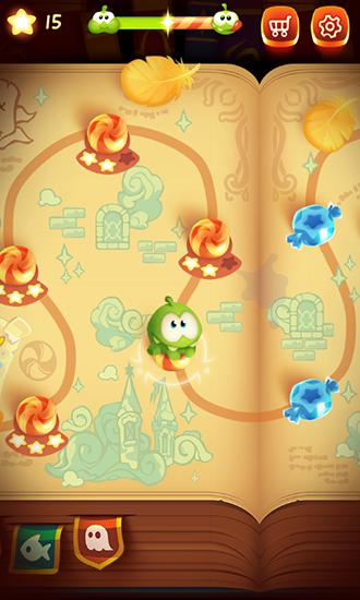 Screenshots von Cut the rope: Magic für Android-Tablet, Smartphone.