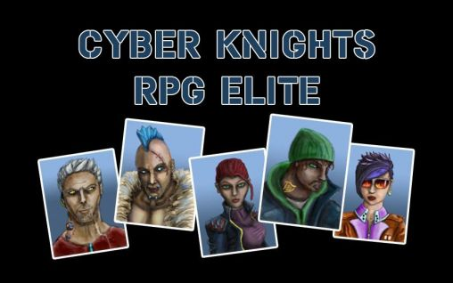 Cyber knights RPG elite poster